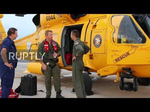 Bahamas: US Coast Guard Responds To Hurricane Dorian