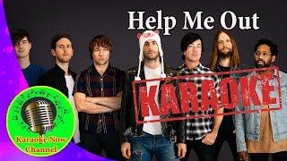 [Karaoke] Help Me Out- Maroon 5 ft Julia Michaels- Karaoke Now
