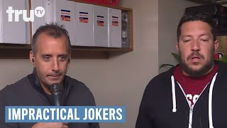 Impractical Jokers - Murr's Flag Pocket Challenge | truTV