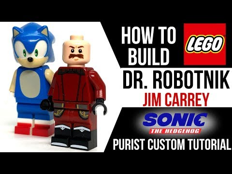 How To Build Lego Dr Robotnik From Sonic The Hedgehog Youtube