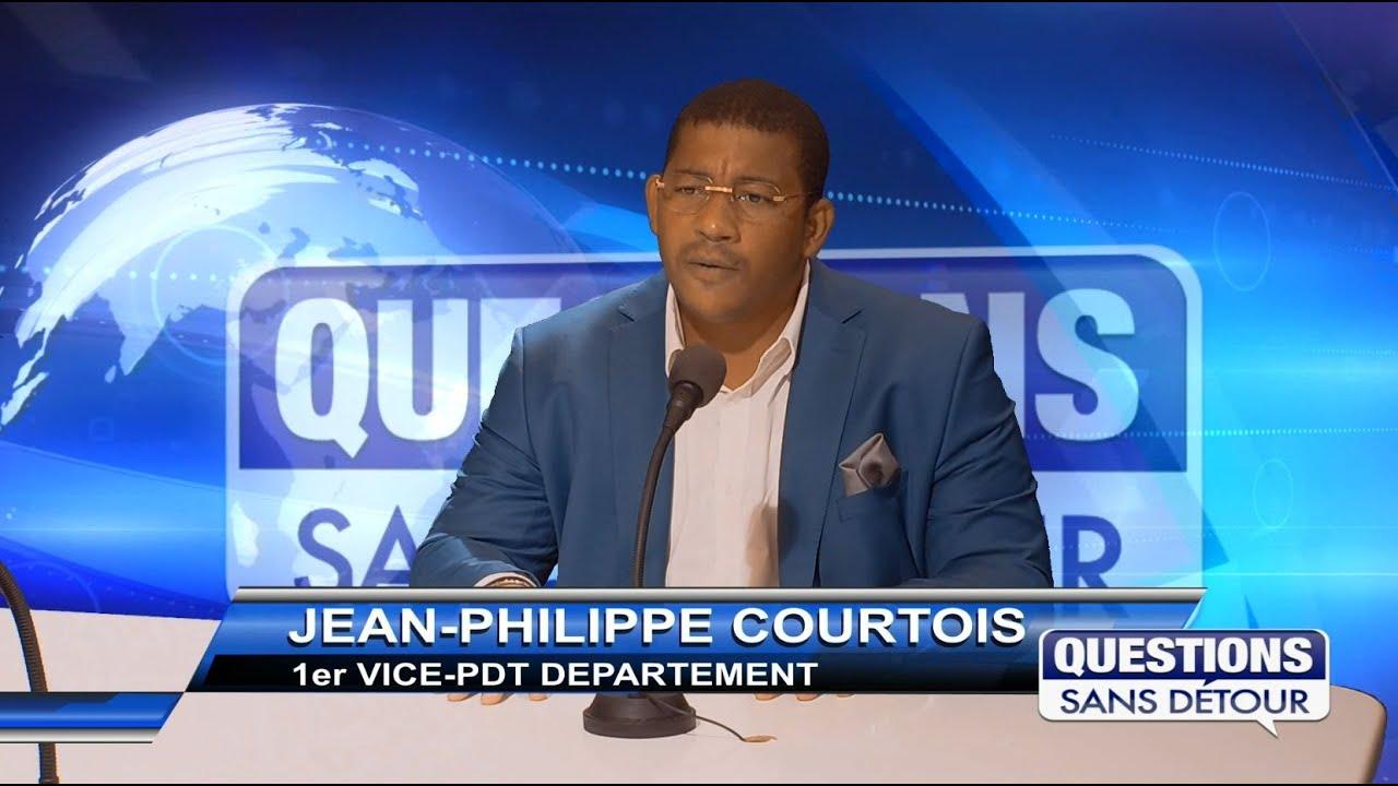 JEAN PHILIPPE COUTOIS -1er Vice PDT DU DEPARTEMENT est l'invité sans QSD sur ETV