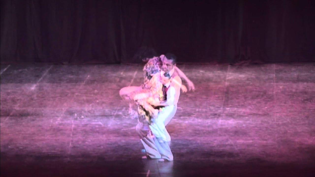 Maestros Gina Medina e Ivan Ovalle (Tango)