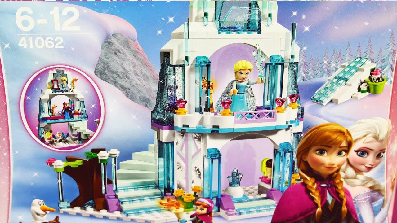 Elsas Sparkling Ice Castle Błyszczący Lodowy Zamek Elzy Lego