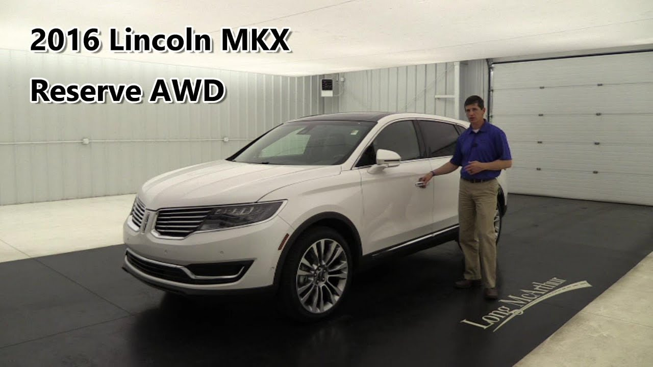 2016 Lincoln Mkx Reserve Awd Technology Driver Ist Luxury Climate Packages