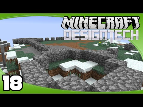 DesignTech - Ep. 18: Castle Layout & Staff of Travelling | Minecraft Custom Modpack Let's Play