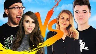 COUPLES VS COUPLES in GTA Online! (GTA 5 Funny Moments) | JoblessGarrett