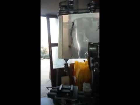 big real DIY radial drill press. I'm getting good at this!