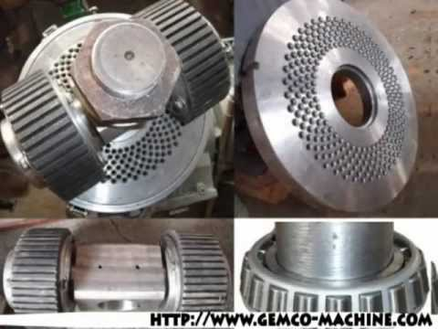 Pellet Press Parts, wood pellet machine parts, small pellet mill or homemade pellet machine