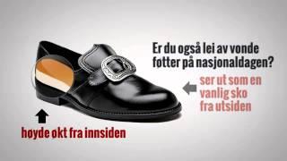 For en elegant 17. mai,  anbefaler denne skoen til din bunad eller dine bunader