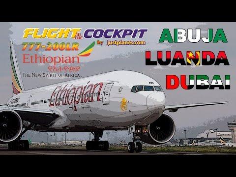 Boeing 777-200LR COCKPIT with ETHIOPIAN