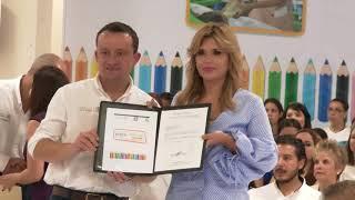 Anuncia Gobernadora autorización de validez para impartir preescolar en guarderías del IMSS