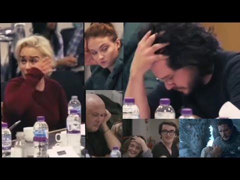 The Game Of Thrones Cast Reacts To The Season 8 Finale (1st Time They Heard The Ending)