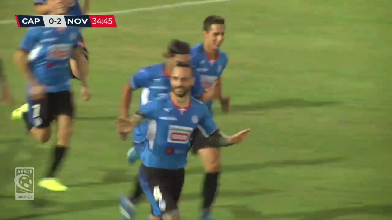 Carpi-Novara 1-2: gli highlights