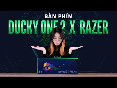 Bàn phím Ducky One 2 x Razer Độc quyền tại GearVN!!