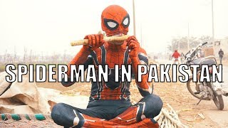 Spiderman in Pakistan | DablewTee | Avengers | Marvel | Spider-Man : Far From Home