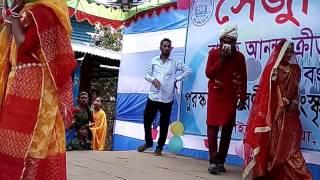 সেঁজুতি স্কুলের বার্ষিক অানন্দ ক্রীড়া প্রতিযোগিতার ত্রকটি অসাধারন রেমশো