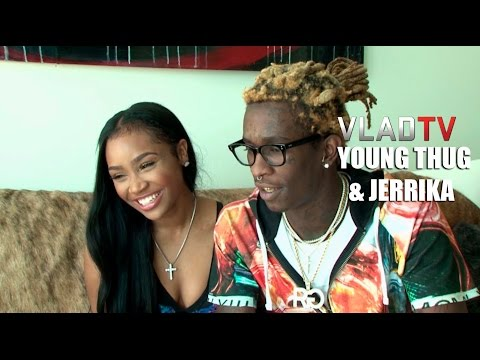 Young Thug and Jerrika Reveal How They Met and Engagement Story