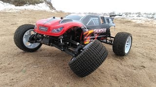 Бюджетки ... Это Zd Racing Thunder Ztx-10 ... Сломал Через 10 Минут!