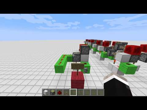 Minecraft: Instant NOT Gate