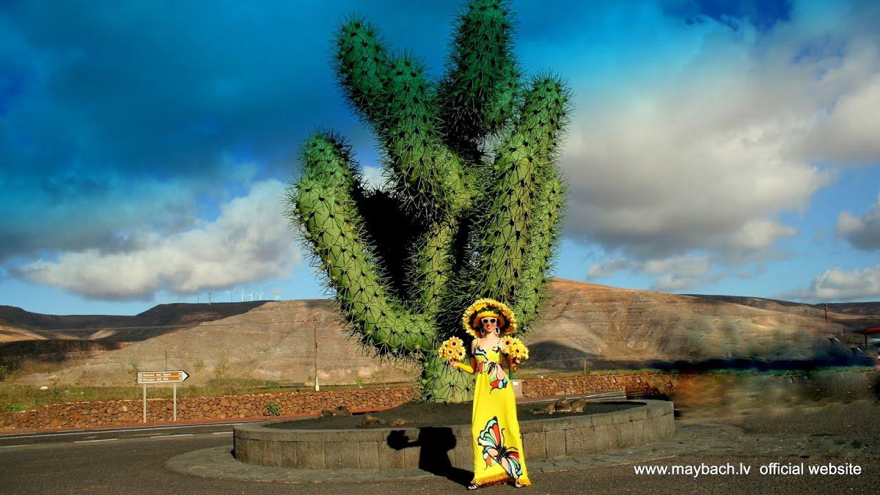 Lanzarote With Ava Maria Jardin De Cactus Cesar Manrique Youtube