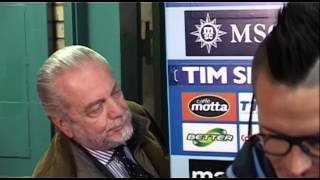 Napoli-Juventus 2-0 - De Laurentiis (30.03.14)