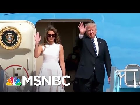Report: WH Staff Limits Donald Trump's Screen Time During Foreign Trip | The 11th Hour | MSNBC