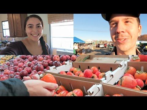 Farmers Market and Fruit Haul