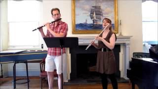 "Day 339: ""Syrinx"" with Baroque flutist Steven Zohn - Claude Debussy - Mimi Stillman, flute"