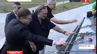Депардье начал свое знакомство с Беларусью