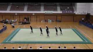 滝沢南中学校 2010 男子新体操