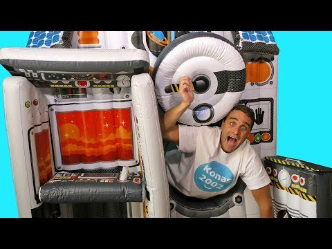 Giant Inflatable Space Station ! || Toy Review || Konas2002