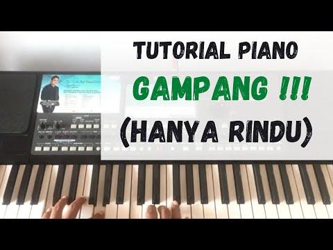 Tutorial Piano Hanya Rindu Andmesh Youtube