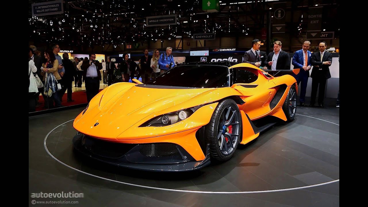 Geneva Motor Show Top Five Hypercars Youtube