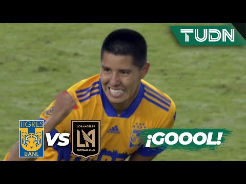 ¡Cabezazo letal! ¡Gran gol de Tigres! | Tigres 1-1 LAFC | Gran Final - CONCACAF Champions | TUDN