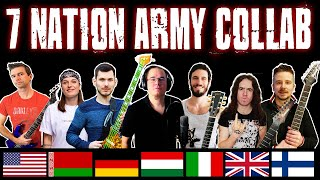 7 Youtubers from 7 Nations cover 7 Nation Army (Ft. Bradley Hall, Andrea Boma, TommyLeeDepp, & More)