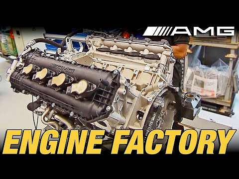 ► Mercedes-AMG Engine Factory