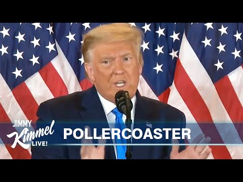 Trump Falsely Claims Victory After Crazy Election Night