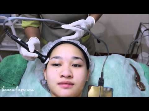 Beauty Vlogger Kiara Leswara had MIRACLE Bubble C Facial at Miracle Clinic