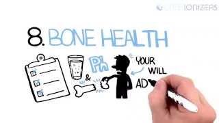 Alkaline Water Benefits - 10 Benefits of Alkaline Water in just 3 Minutes