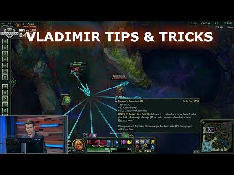 Jatt explains: the perfect Vladimir combo! Vladimir pro tips & tricks