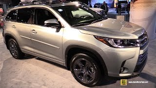 2017 Toyota Highlander Limited - Exterior and Interior Walkaround - 2017 NY Auto Show