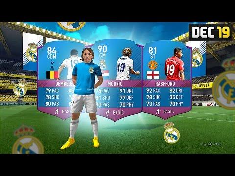 90 MODRIC / RASHFORD / DEMBELE FUTMAS SBC! - #SBC #FIFA17 Ultimate Team
