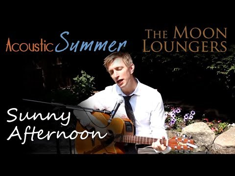 The Kinks Sunny Afternoon | Acoustic Cover by the Moon Loungers (with guitar tab)