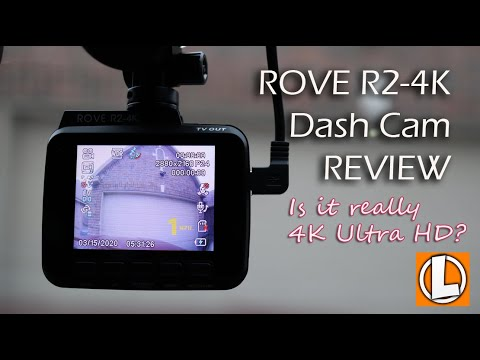 Rove R2 4K Dash Cam Review - Unboxing, Features, Settings, Video Quality Footage