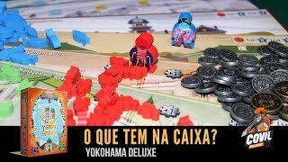 Covil dos Jogos - O Que Tem na Caixa? Unboxing Yokohama Deluxe