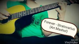 Forever - Stratovarius (Guitar solo, arr.masho)