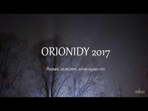 Orionidy 2017