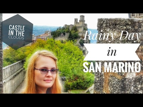 San Marino on a rainy day