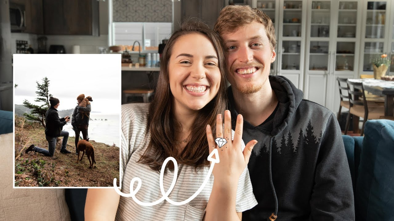 We're Engaged! Here's the story...