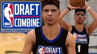 NBA 2K20 LaMelo Ball MyCAREER - Draft Lottery + NBA Combine! Anthony Edwards vs LaMelo Ball